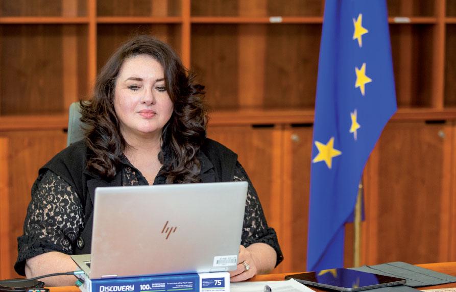 Helena Dalli, comisaria europea de Igualdad.